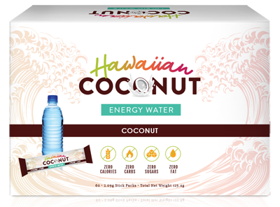 hawaiian coconut energy water