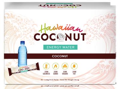 hawaiian coconut energy water
